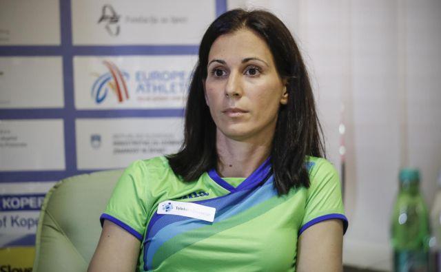 Za Marijo Šestak je prvo veliko tekmovanje v vlogi vodje slovenske reprezentance. FOTO: Uroš Hočevar