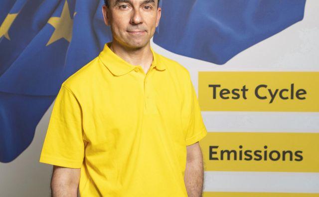 Alex Regne Gläser: Smo na precej dobri poti, da nam bo uspelo tudi s športnimi terenci dosegati okoljske cilje. FOTO: Opel