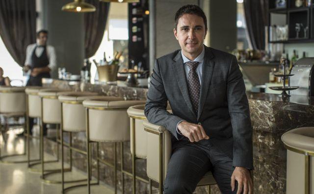 Gregor Jamnik, direktor hotela Slon. FOTO: Voranc Vogel/delo