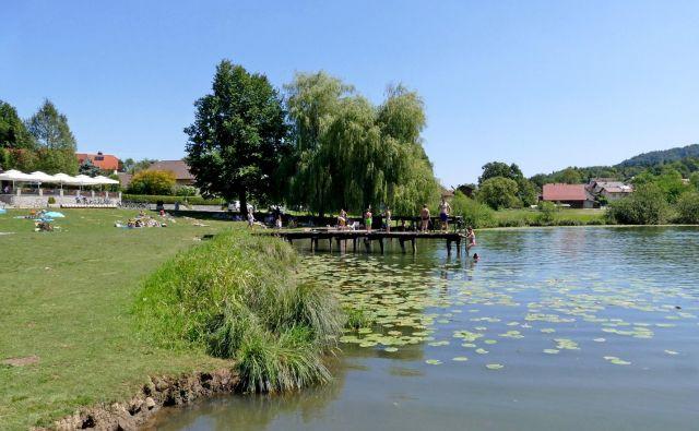 Nove analize vode v jezeru so pokazale na odlično kakovost vode. FOTO: Dokumentacija Dela