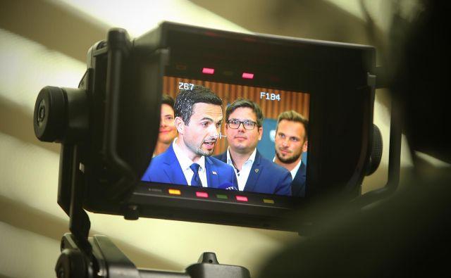 Matej Tonin bo državni zbor vodil samo še mesec dni. FOTO: Jure Eržen
