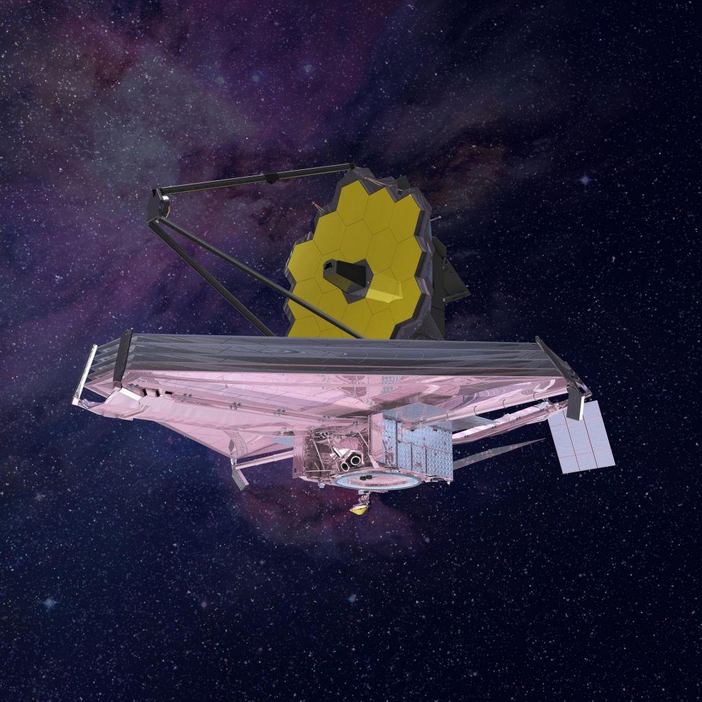 FOTO:Teleskop, ki bo opazoval rojstvo prvih galaksij