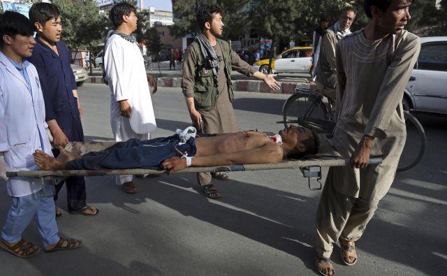 Gre za nov večji samomorilski napad v Afganistanu v zadnjem mesecu dni. FOTO: AP