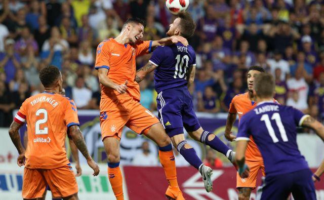 Dino Hotić se je dobro boril, vendar tudi njemu sreča tokrat ni bila naklonjena. FOTO: Tadej Regent/Delo