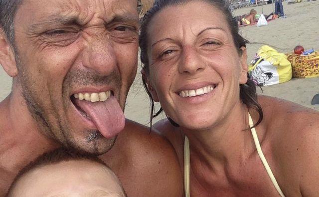 Roberto Robbiano (44 let), Ersilia Piccinino (41 let) in Samuel (8 let) FOTO: AP