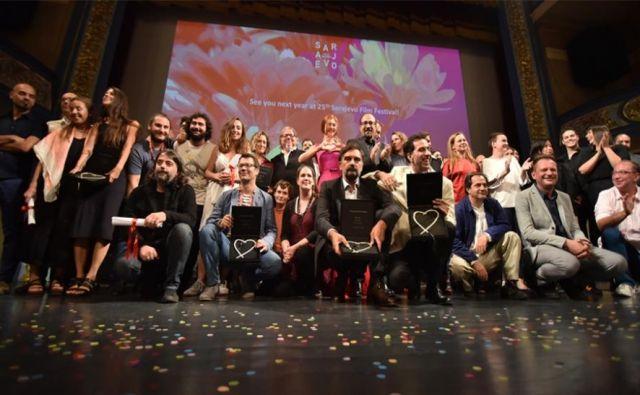 Nagrajenci FOTO: SFF