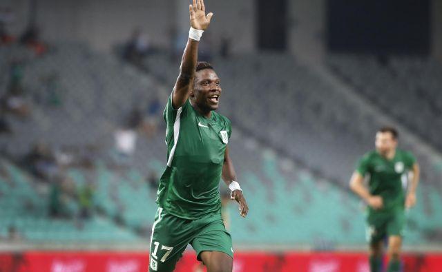 Issah Abass je najbolj vroč nogometaš ljubljanskih zeleno-belih.