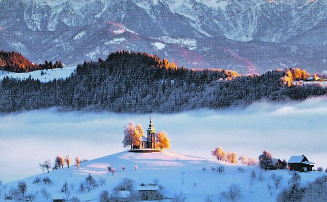 Vse bolj priljubljen Sv. Tomaž pri Škofji Loki<br /> FOTO: Jošt Gantar/Slikovita Slovenija