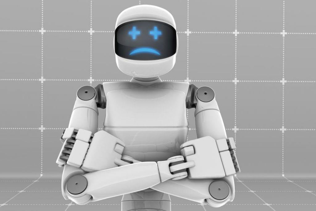 V družbi z zlovoljnim robotom so bili ljudje bolj zbrani