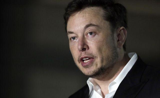 Elon Musk se je razgovoril ua New York Times. FOTO: Kiichiro Sato/AP