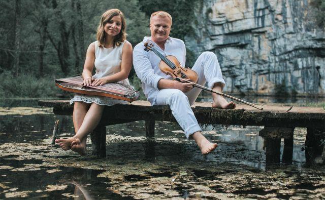 Janja Brlec in Peter Napret. FOTO: Festival Velenje