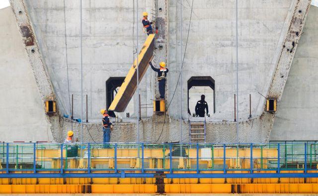 Kitajci so letos začeli graditi tudi viadukt Bar-Boljare v Črni gori. FOTO: Reuters