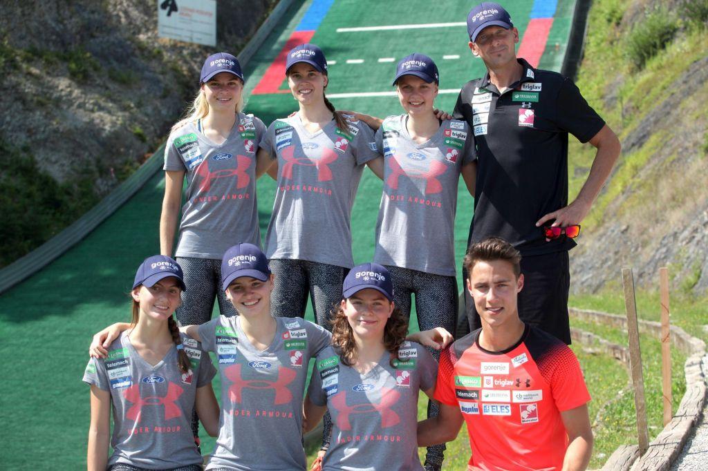 Rogljeva na Češkem postavila rekord skakalnice