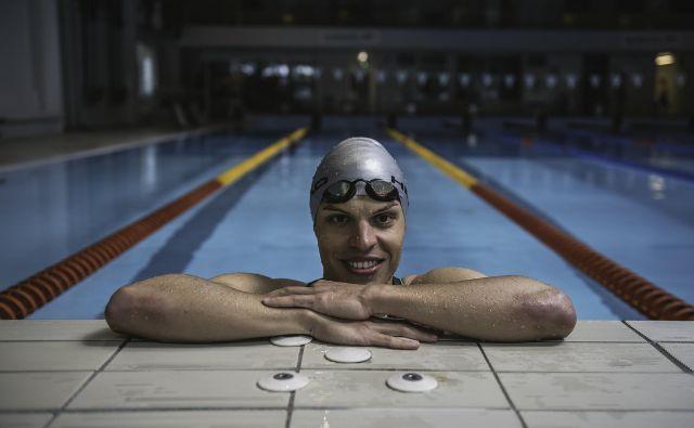 Plavalno kariero je moral končati, ko so v Trbovljah zaprli bazen. FOTO: Tine Kušar