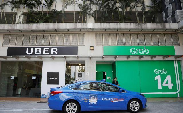 Storitve naročanja prevoza prek mobilne aplikacije, kot sta Uber in Lyft, so pri prebivalcih in obiskovalcih New Yorka zelo priljubljene. FOTO:Reuters
