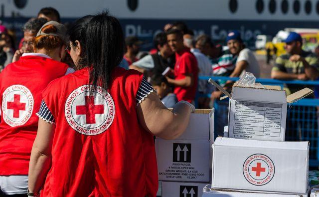 Delavci Rdečega križa pomagajo po vsem svetu. Foto Shutterstock