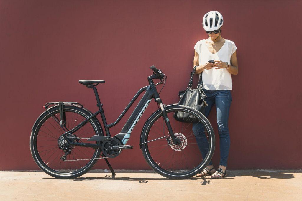 Pot s kolesom v službo za telebane
