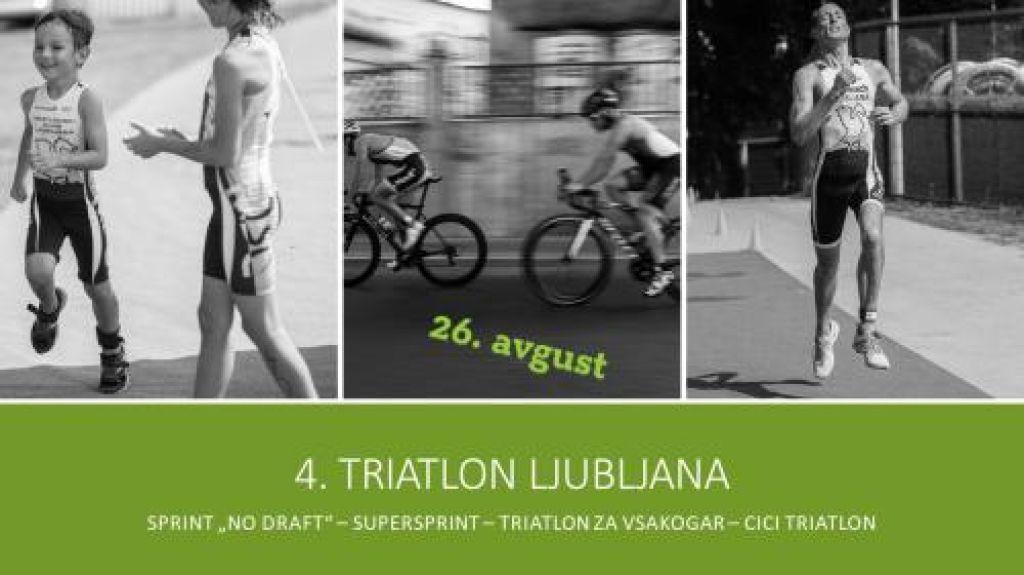 Prvič v Sloveniji kronometrski sprint triatlon
