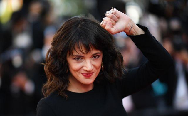 Oktobra lani, ko se je začel pogrom nad Weinsteinom, je Asia postala vodilni obraz gibanja #MeToo. FOTO: Loic Venance/Afp