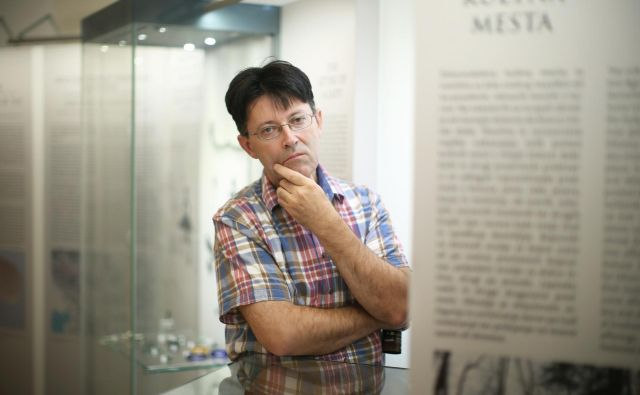 Arheolog dr. Peter Turk FOTO: Jure Eržen