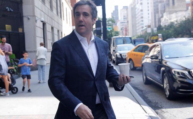 Nekdanji odvetnik Donalda Trumpa Michael Cohen FOTO: Reuters