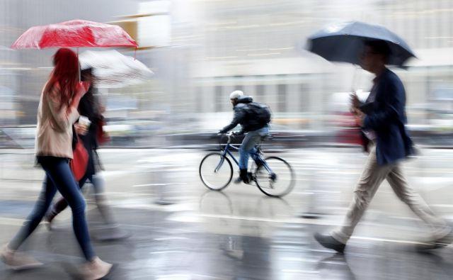 V nedeljo bo deževno z bolj jesenskimi temperaturami. FOTO: Shutterstock