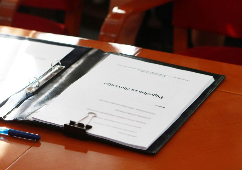 Kaj predvideva koalicijska pogodba?