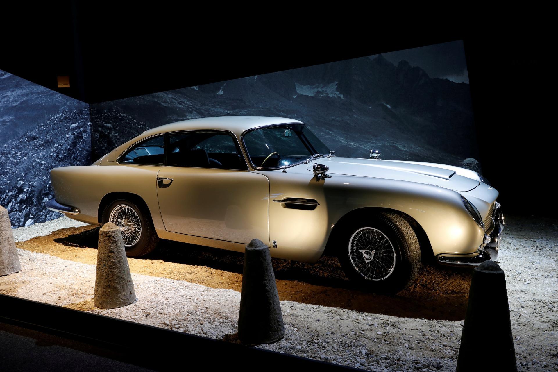 Aston Martin bo znova izdelal avtomobil iz filma Goldfinger Avto