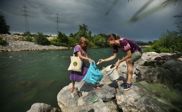 Letos bo poudarek tudi na varovanju voda. FOTO: Jure Eržen/Delo