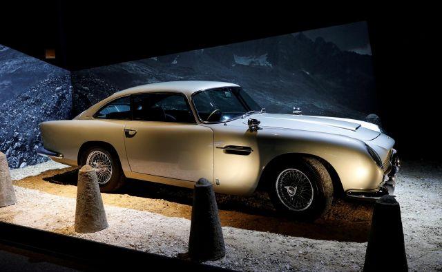 Aston Martin DB5 - od 28 primerkov modela DB5, ki jih bodo izdelali, jih bo naprodaj 25. FOTO: Reuters