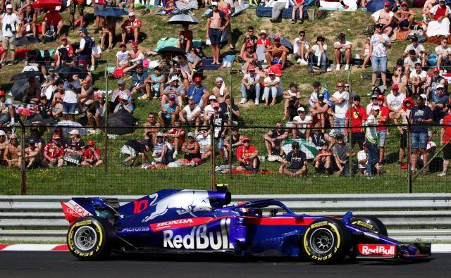 Pierre Gasly bo v prihodnji sezoni pri Red Bullu zamenjal Daniela Ricciarda. FOTO: Reuters