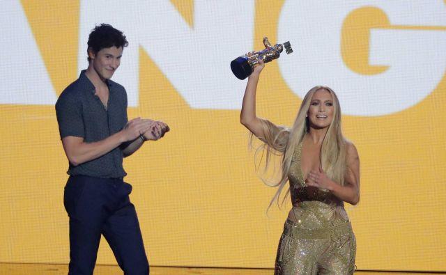 Jennifer Lopez je dobila nagrado za življenjsko delo. FOTO: Lucas Jackson/Reuters