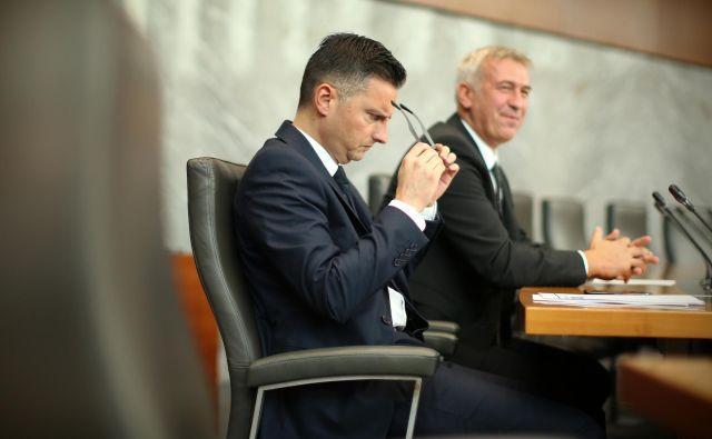 Medtem ko Marjan Šarec, prvak LMŠ, sestavlja vlado, smo izračunali kakšno politično moč bodo imele stranke glede na višino javnega denarja, s katerim bodo razpolagale.Foto Jure Eržen/Delo