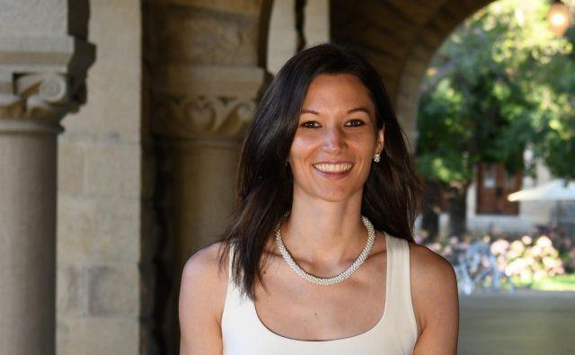 Nina je na Stanfordu preživela eno leto. FOTO: Osebni arhiv