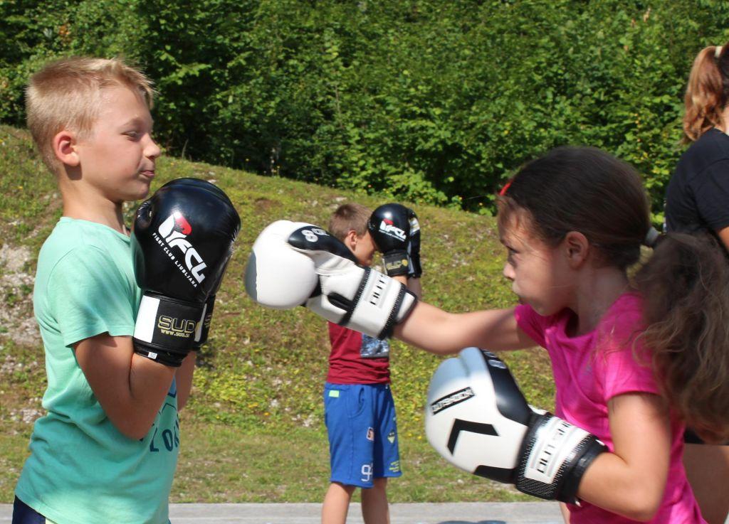 FOTO:Poletni kamp boksa za otroke