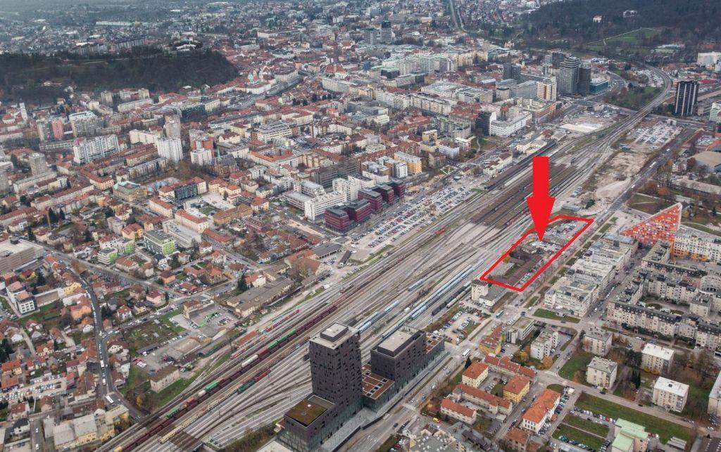 Zbiranje zavezujočih ponudb za stavbno zemljišče na izredni lokaciji v središču Ljubljane