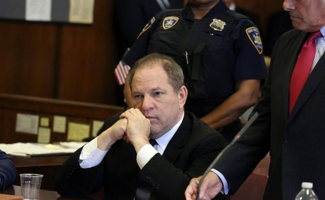 Harvey Weinstein se je na sodišču izrekel za nedolžnega. FOTO: Jefferson Siegel/Afp