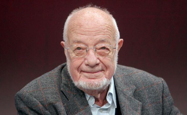 Natan Bernot je malo pred smrtjo dopolnil 87. let. FOTO: Roman Šipić/Delo