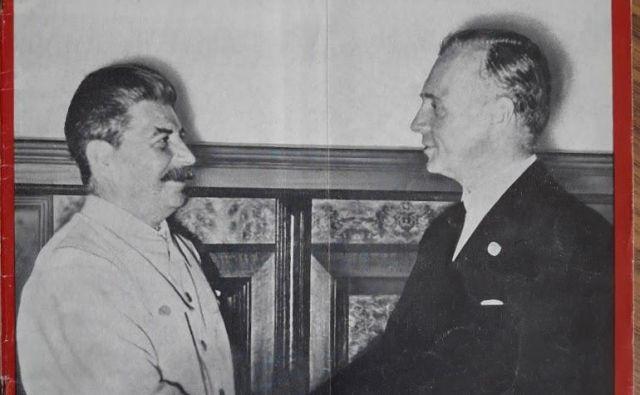 Stalin in Ribbentrop FOTO: Muzej Tiska