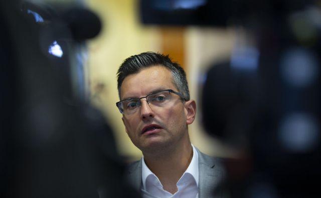 Marjan Šarec sestavlja vlado, imena ministrov iz kvote njegove stranke še niso znana. Foto Matej Družnik