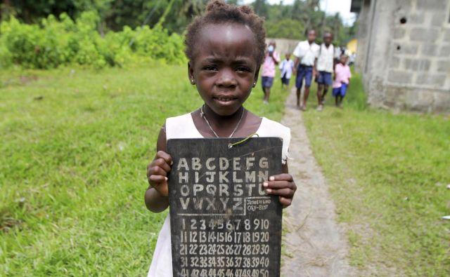 Pri desetih letih pa se od otrok pričakuje, da govorijo jezik glede na svoj spol (fotografija je simbolična). FOTO: Akintunde Akinleye/Reuters