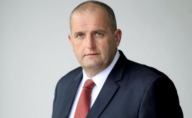 Blaž� Miklavčič bo na skupščini podprl dokapitalizacijo družbe. Foto Roman Šipić