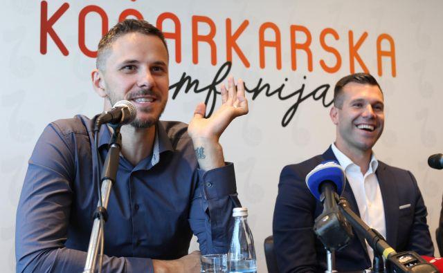 Karieri Boštjana Nachbarja in Sanija Bečiroviča sta se pogosto prepletali. FOTO: Tomi Lombar/Delo
