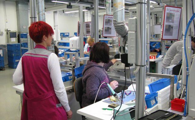 Potrebujejo delavce v proizvodnji in skladišču. FOTO: Polona Malovrh