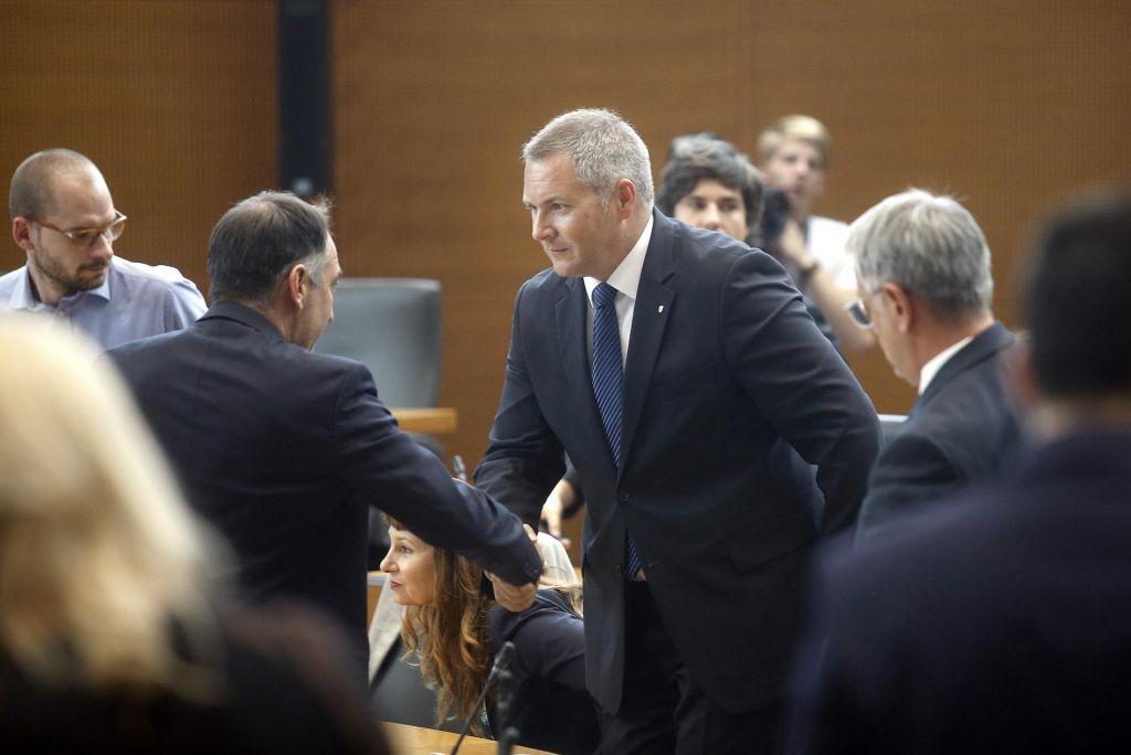 FOTO:Dejan Židan prevzema vodenje državnega zbora