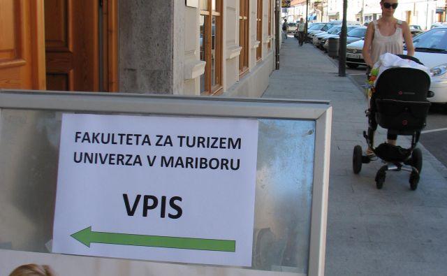 Vpis do konca tedna. FOTO Janoš Zore