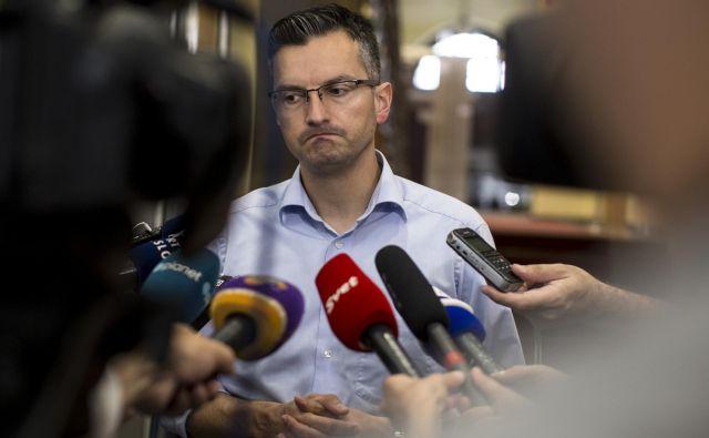 V LMŠ poudarjajo, da so prednostni cilji Slovenije skupna politika EU, zavezanost jedrnemu delu, reševanje problema migracij na ravni EU in ohranjanje transatlantske usmeritve. FOTO: Voranc Vogel/Delo