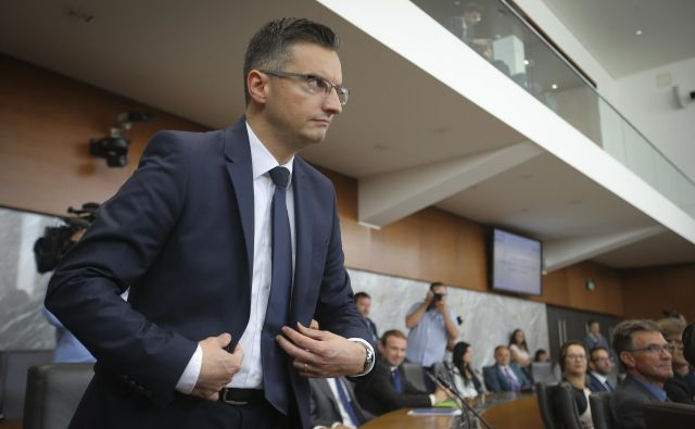 Marjan Šarec bo predvidoma danes razkril imena kandidatov za resorje, ki pripadajo LMŠ. FOTO: Jože Suhadolnik