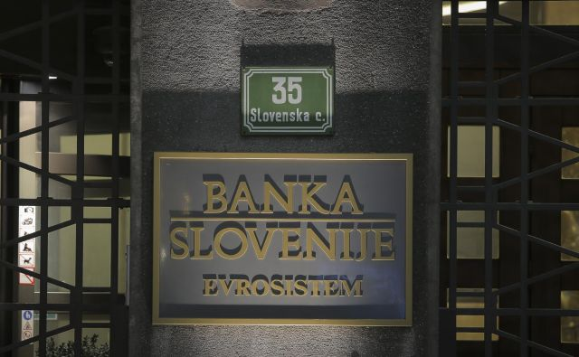 Banka Slovenije FOTO: Jože Suhadolnik