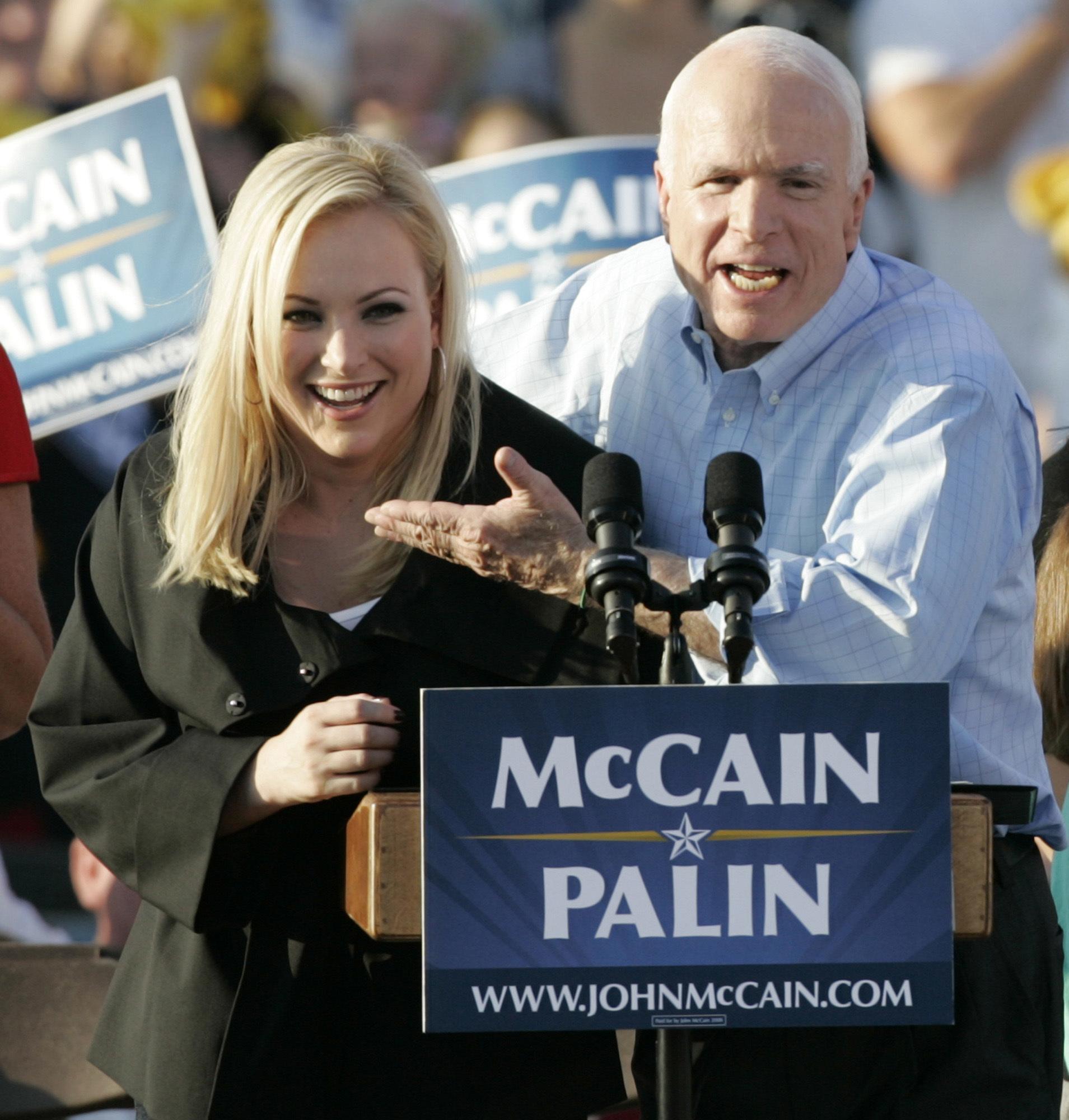 FOTO:Meghan McCain: Očeta Ni Več In Pogrešam Ga